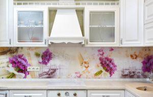 Венеция для скинали в интерьере кухни - 34741