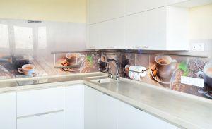 Еда и напитки для скинали в интерьере кухни - 34759