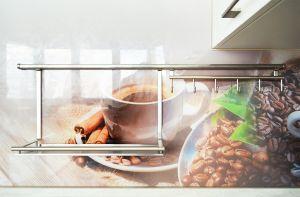 Кофе для скинали в интерьере кухни - 34759