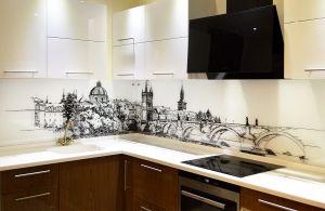 Города для скинали в интерьере кухни - 34794