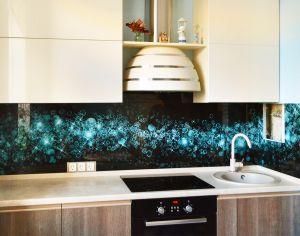 Звезды для скинали в интерьере кухни - 34810
