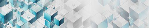 Скинали - Объемные кубы в светлом пространстве