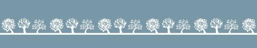 Скинали - Ряд абстрактных деревьев