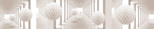 Скинали - Объемная абстракция с необычными сферами