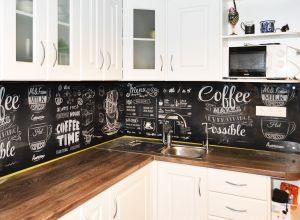 Еда и напитки для скинали в интерьере кухни - 35257