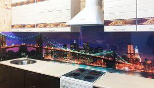 Нью-Йорк для скинали в интерьере кухни - 35431
