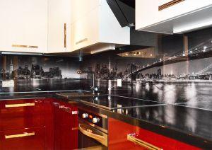 Нью-Йорк для скинали в интерьере кухни - 35447