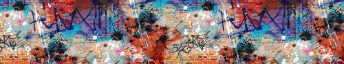 Скинали - Стена в граффити