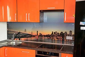 Сан-Франциско для скинали в интерьере кухни - 22039