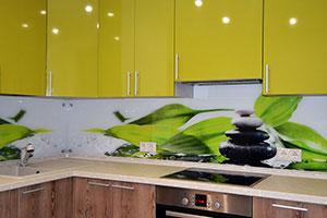 Растения для скинали в интерьере кухни - 22104