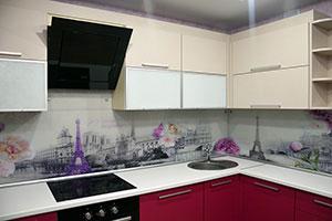 Париж для скинали в интерьере кухни - 22204