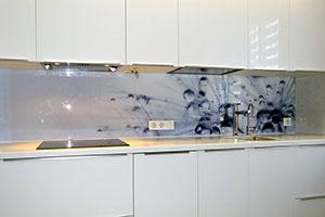 Капли для скинали в интерьере кухни - 22438