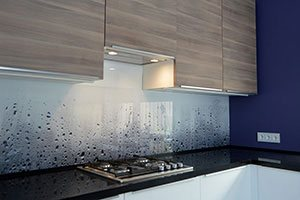 Капли для скинали в интерьере кухни - 22430