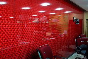 Отделка стен стеклом - 22774