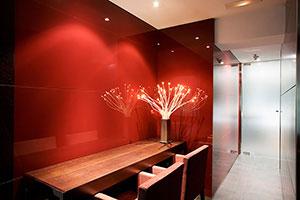 Отделка стен стеклом - 22775