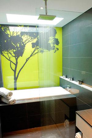 Отделка стен стеклом - 22763