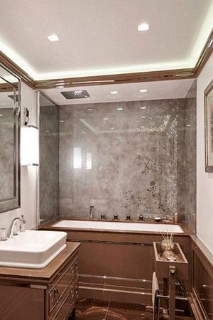 Отделка стен стеклом - 22764