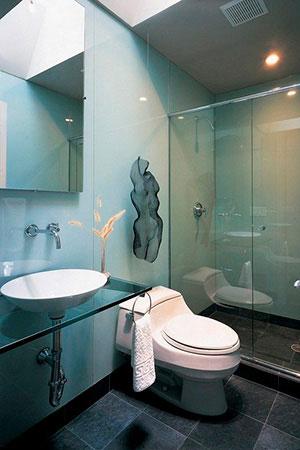 Отделка стен стеклом - 22768