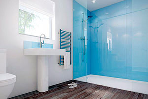Отделка стен стеклом - 22756