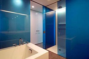 Отделка стен стеклом - 22757