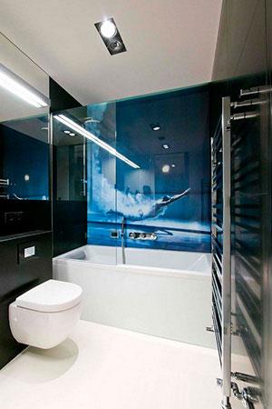 Отделка стен стеклом - 22761