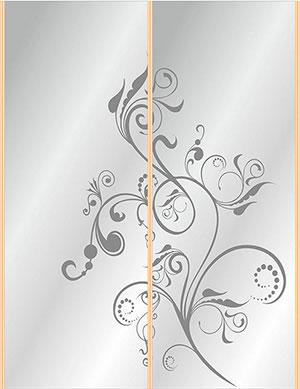 Пескоструй - Цветы - 27213