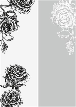 Пескоструй - Цветы - 25921