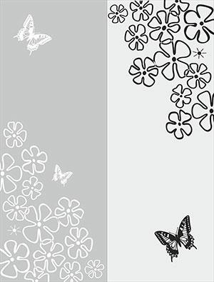 Пескоструй - Цветы - 27903