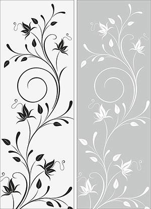 Пескоструй - Цветы - 26943