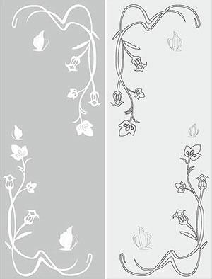 Пескоструй - Цветы - 28584