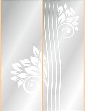 Пескоструй - Цветы - 28110