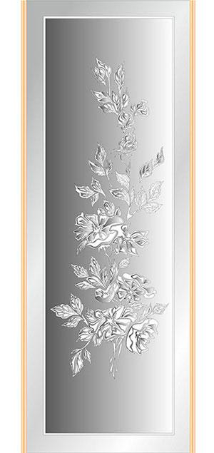 Пескоструй - Цветы - 27339