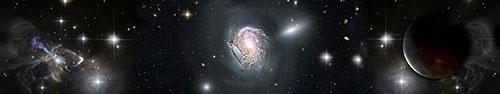 Скинали - Галактики и звезды
