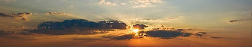 Скинали - Закат, пробивающийся сквозь облака