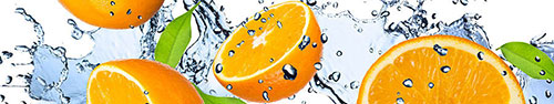 Скинали - Красивые разрезанные апельсины