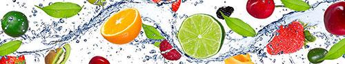 Скинали - Малина, лайм, зеленые лепестки и водичка