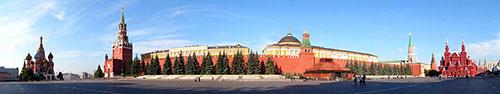 Скинали - Москва, Кремль, Красная площадь
