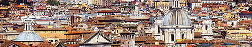 Скинали - Центр Рима - панорамный вид