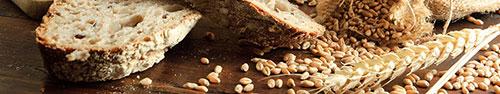 Скинали - Пшеничный хлеб и зерна