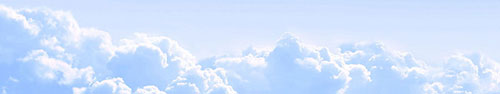 Скинали - Голубое облачное небо