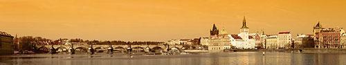 Скинали - Панорамный вид на Прагу