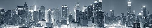 Скинали - Ночной Нью-Йорк в черно-белом исполнении