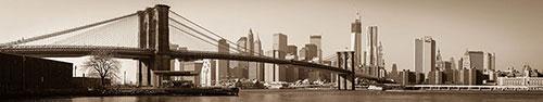 Скинали - Нью-Йорк с фильтром сепия