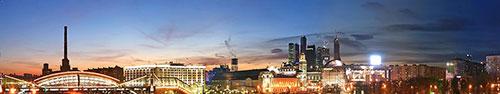 Скинали - Москва. Россия. Ночь