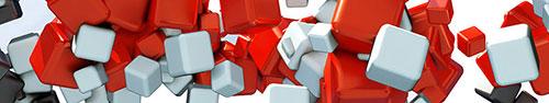 Скинали - Красные, черные и белые кубы