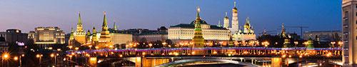 Скинали - Панорама вечерней Москвы