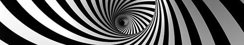 Скинали - Глубокая спираль цвета зебры