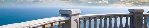 Скинали - Отличный вид из мансарды отеля