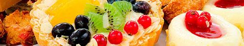 Скинали - Вкусный пирог с кремовой начинкой и фруктами
