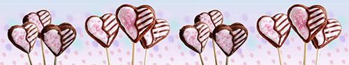 Скинали - Сладости в форме сердечек
